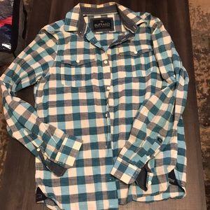 Buffalo button down shirt